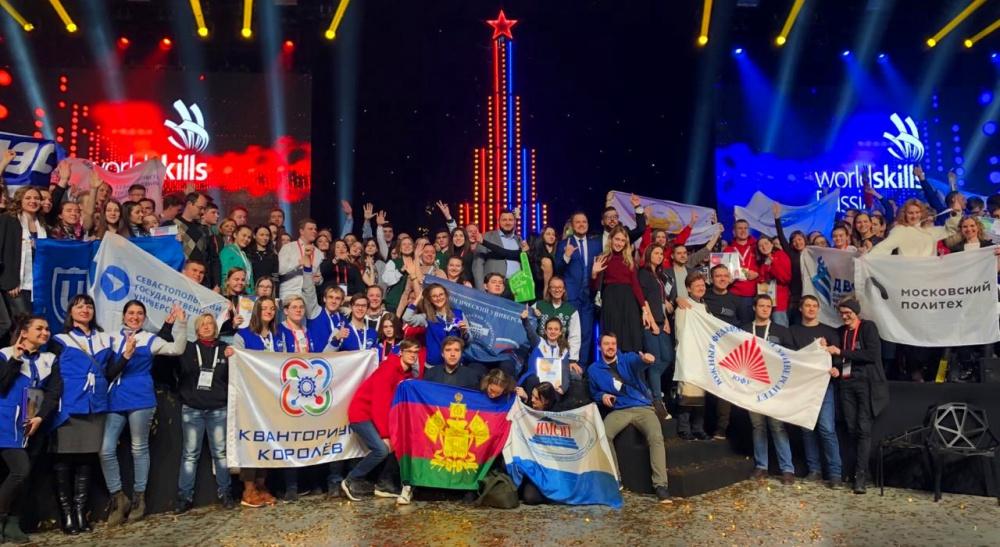 Студенты университета одержали победу в финале национального межвузовского чемпионата WorldSkills Russia - «Технологический университет»