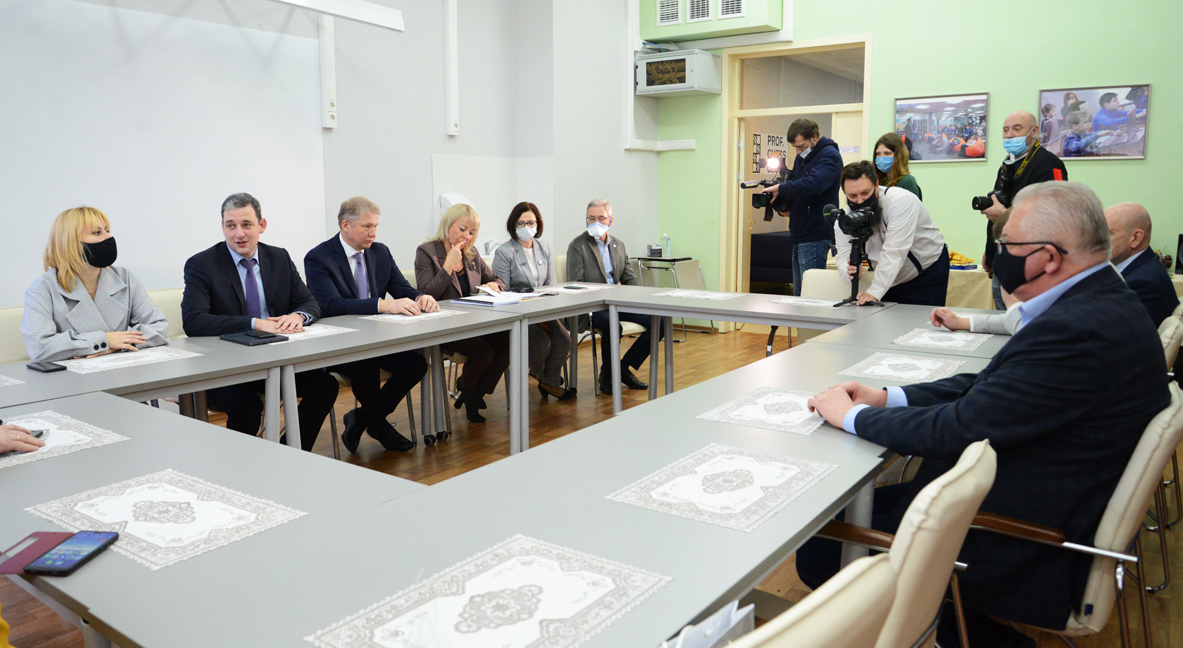 Visit of Minister of Education of the Republic of Belarus to the University of Technology